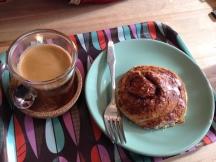 Coffee & Cinnamon Roll Home Made