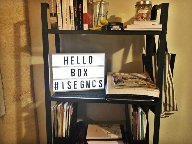 Hello BDX #ISEGMCS